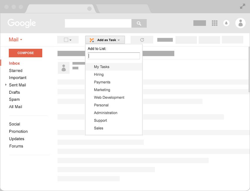 Yanado - Task management inside Gmail