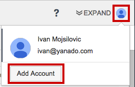 add account in Yanado