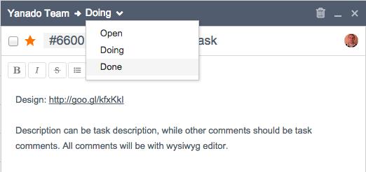 yanado task statuses