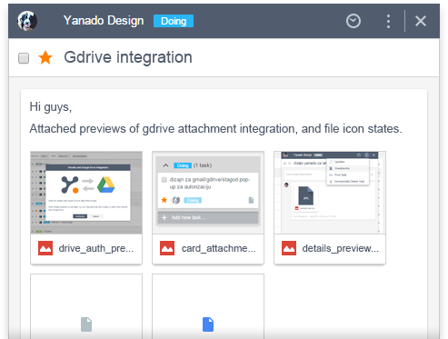 yanado google drive integration
