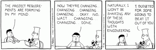 agile changing requirements
