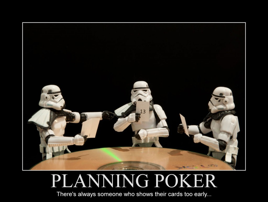 Planning poker in software project management