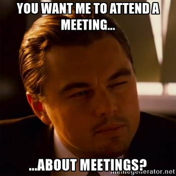 meeting about meeting